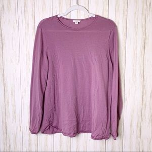 J.JILL | Lavender Merino Wool Sweater